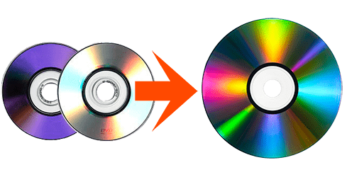 transfer camcorder to DVD to combine mini dvds
