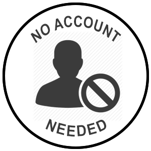 no account setup