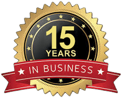 15 years in business